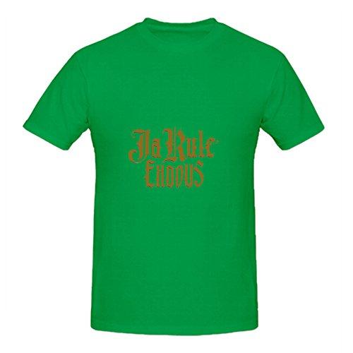 Ja Rule Exodus Greatest Hits Men Crew Neck Art Shirts Green (Adult Cheer Bear Dress)