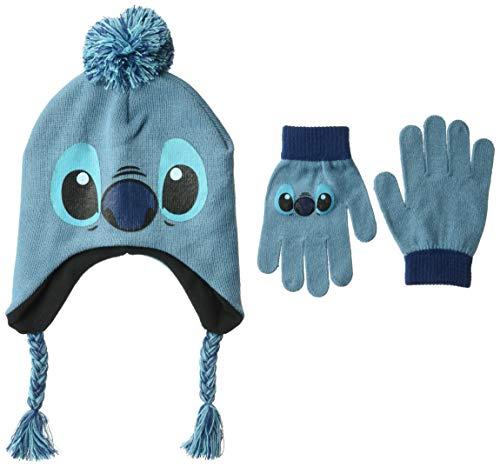 (Disney  Lilo & Stitch Winter Beanie & Glove)