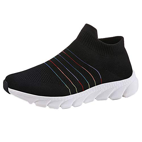 Wristlet Metal Mesh (Todaies Outdoor Adult Trainers Running Shoes Woman Sock Shoes Breathable Mesh Sneakers)