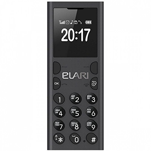 017), of SUPER SMALL UNLOCKED GSM QUAD-BAND phone+Bluetooth companion for a smartphone+MP3 player with playlist+VOICE RECORDER to SD CARD / FM (Black) ()