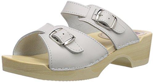 18 Mules weiss Blanc Flexibler Slipper Bighorn Gevavi wit Femmes 01 dpx0wIARq