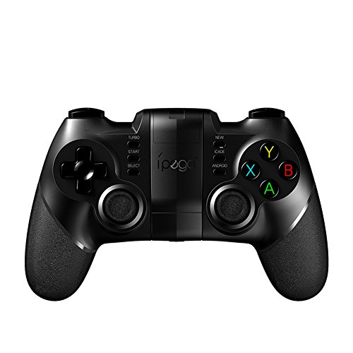 RONSHIN ipega 9076/9077 Gamepad Bluetooth Game Controller 2.4G Wireless Receiver Joystick Android iOS Game Console Player for PUBG Without Bluetooth Receiver (9077)