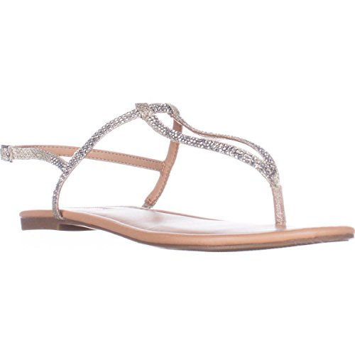 Flache Frauen Split Macawi2 Leger Champagne Sandalen International Concepts INC Toe Eqp60xw