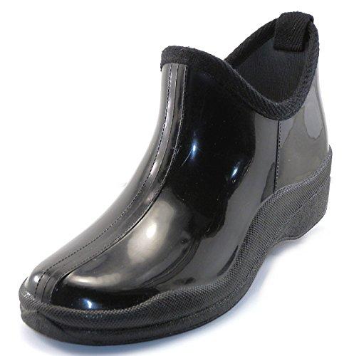 sh18es Shoes8teen Womens Short Rain Boots Prints & Solids 1