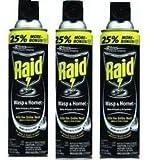 Raid - Raid Wasp and Hornet Spray- 3 Pack