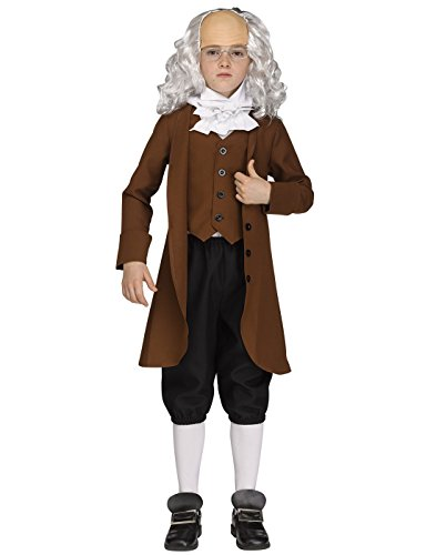 Fun World Boys 115682S Costume, Multi-Colored,