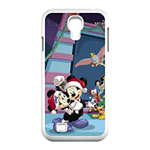 Mickey's Magical Christmas Snowed in at the House of Mouse Samsung Galaxy S4 9500 Cell Phone Case White Phone cover E1340843