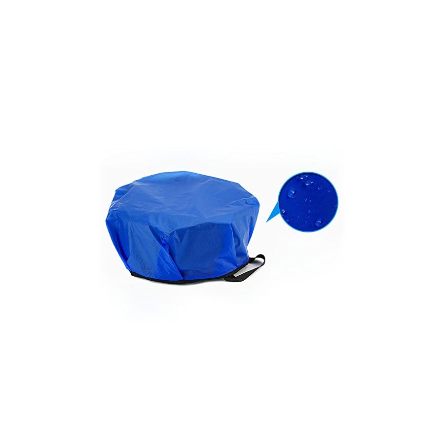 OLSUS Foldable Basin with Handle,Portable Bucket Water Storage Container Collapsible Water Bowl For Car Washing Painting