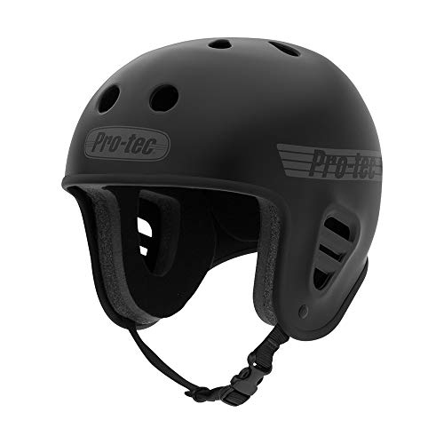 Pro-Tec Full Cut Skate, Matte Black, -