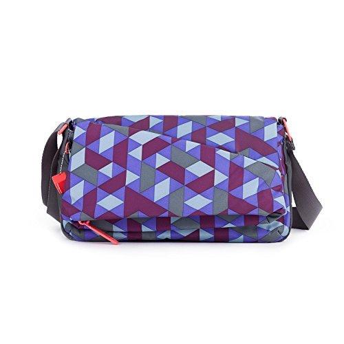 Hedgren Romana Crossover Shoulder Bag Women's One Size (Particles Print) [並行輸入品] B07DWS4XS9