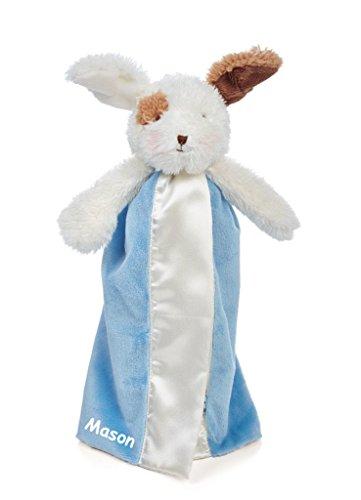 Personalized Bunnies By The Bay Friend Skipit Puppy Bye-Bye Buddy Baby Blanky Blanket - Salty Blue ()