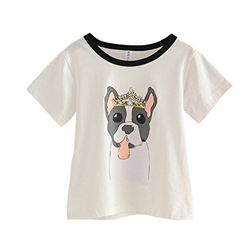 Meijunter ElternKind Bluse Bekleidung Hund Drucken Erwachsene Kinder ...