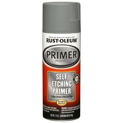 Rust-Oleum 249322 Automotive 12-Ounce Self Etching Primer Spray Paint, Dark Green
