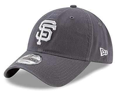 San Francisco Giants New Era MLB 9Twenty Twill Core Classic Adjustable Gray Hat