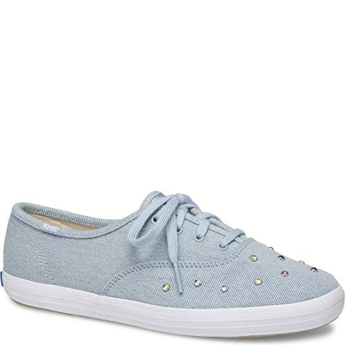 Keds Womens Champion Starlight Stud Casual Shoes Blue 7