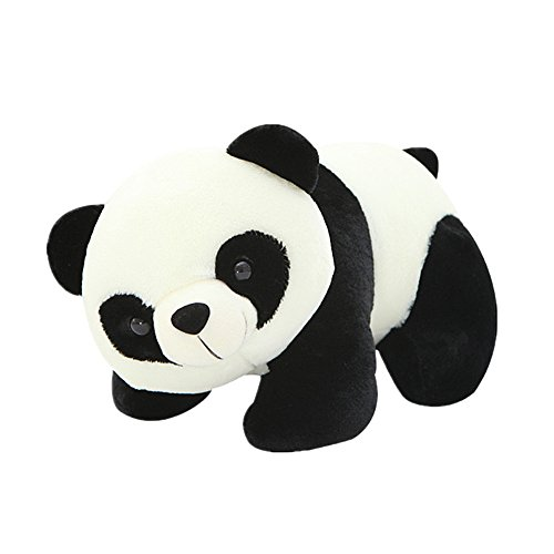 Meanhoo 11.8 inch Animal Doll Panda Plush Toy for Gift ,Lover and Childern,Soft Animal Toy Cute Pre-Kindergarten Toys for Kids