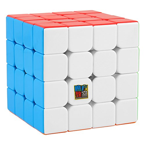 (UROPHYLLA Speed Cube, Speed Magic Cube 4x4x4 Stickerless Smooth Cube Tension can be Adjusted Super-Durable with Vivid Colors Includes Game Manual Best Gift for Children )