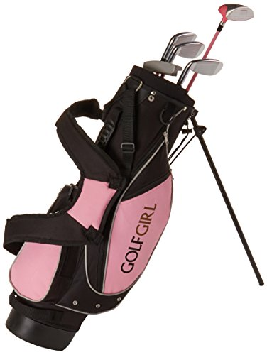 Golf Girl Junior Set for Ages 4-8 w/Pink Stand Bag RH by Golf Girl