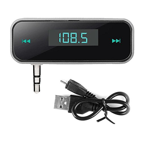Niome 3.5mm Wireless FM Transmitter Car Kit Modulator Handsfree In-car LCD MP3 Audio Music Player