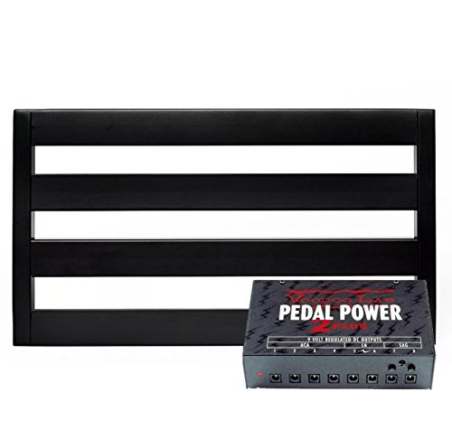 Pedal Trains (Pedaltrain Classic 1 Pedalboard w/Soft Case and Voodoo Lab Pedal Power 2 PLUS Power Supply)