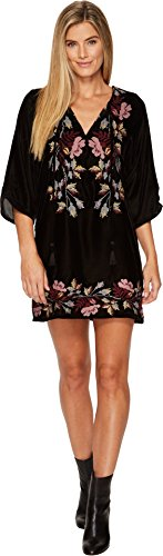 Tolani Women's Shisha Tunic Dress Sable Small