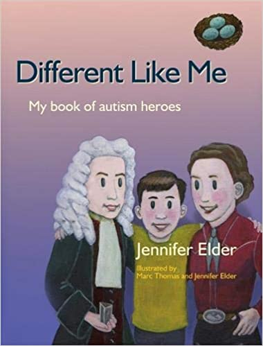 Different Like Me: My Book of Autism Heroes Hardcover - Popular Autism Related Book