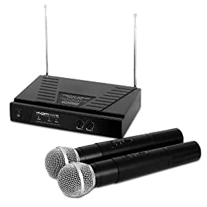 KAM KWM11 Dual VHF Wireless Microphone System