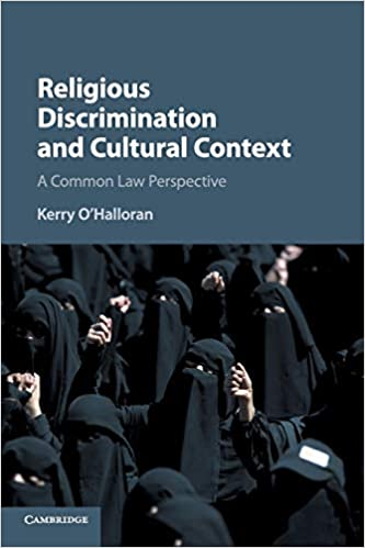 Ebooks Religious Discrimination and Cultural Context: A Common Law Perspective Download PDF