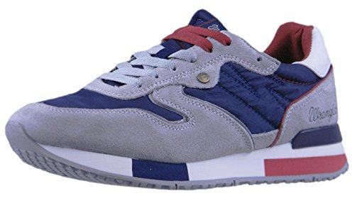 WRANGLER 416 Blu/Grigio Scarpa Uomo Sneaker 181081
