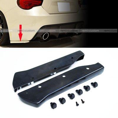 Rear Apron For 2013 2014 2015 2016 Scion FRS/Subaru BR-Z PU Rear Bumper Lip Aprons ()