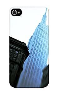 Resignmjwj Case Cover For Iphone 5/5s - Retailer Packaging Empire State Building Protective Case