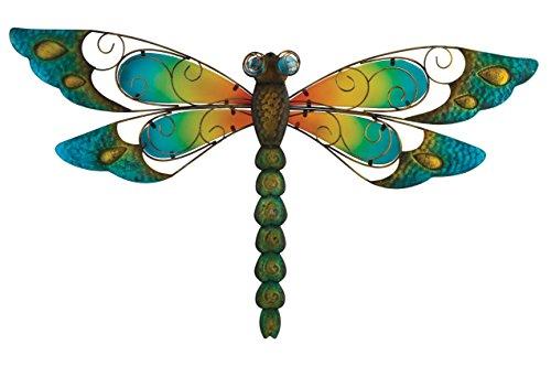 Regal Art &Gift Dragonfly Wall Decor, 29-Inch, - Decor Garden Dragonfly