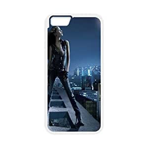 iPhone 6 Plus 5.5 Inch Cell Phone Case White Girl in Moonlight Sfcde