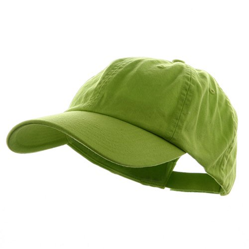 MG Low Profile Dyed Cotton Twill Cap - Apple Green ()