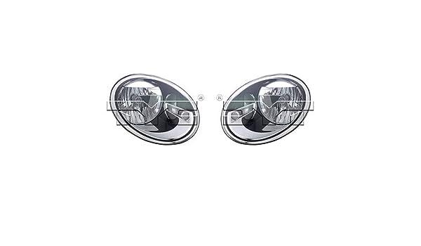 VW2503147 Fits 2012-2017 Volkswagen Beetle Passenger Halogen Headlight CAPA