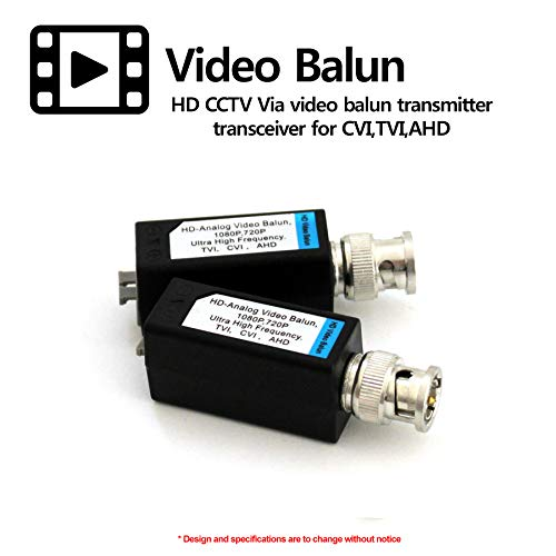 HDVD 32 Pairs Mini CCTV BNC Video Balun Transceiver Cable Push Button Terminal (32 Pairs) by HDVD (Image #4)