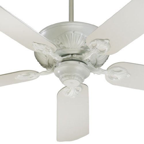 78525-8 Chateaux 5-Blade Energy Star Ceiling Fan with Studio White Blades, 52-Inch, Studio White Finish