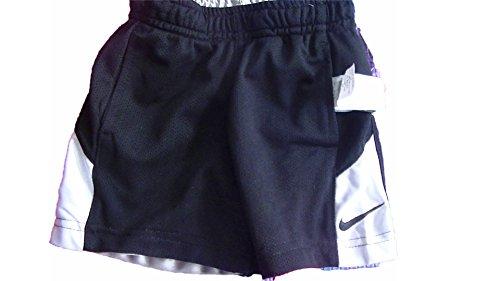 Nike Reversible Mesh Shorts - Boys 4t Black/Silver