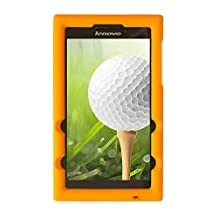 Bobj for Lenovo Tab 2 A7-20, Tab 2 A7-10 - BobjGear Protective Tablet Cover (Outrageous Orange)