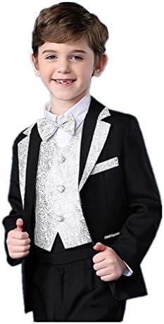 フォーマル スーツ 男の子 子供タキシード キッズ 5点セット