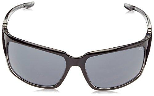Dice Lunettes de soleil unisexe, shiny black/G15