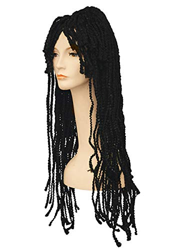 Adult Dreadlock Ii Whoop Deluxe Med Brown Wig