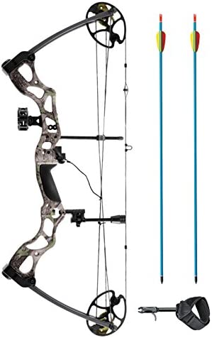 XGear Right Hand Compound Bow 50-70lbs 25 -31 Archery Hunting Equipment with Max Speed 310fps
