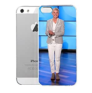 iPhone 5S Case TbeEllanShew Images For U0026gt Ellen Degeneres Show Season 11 American Lgbt Related Television Programs Hard Plastic Cover for iPhone 5 Case