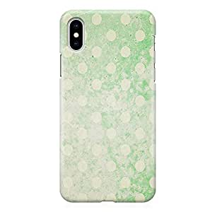 Loud Universe Phone Case Fits iPhone XS Max with Wrap around Edges Elegant Phone Case Green 3D Phone Cover