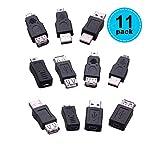 ToQuanYue-10-pz-otg-5-pin-fm-changer-convertitore-adattatore-usb-maschio-A-femmina-micro-mini-spina-per-computer-tablet-pc-mobile-Telefono