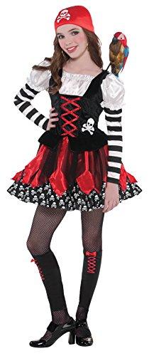 Cross Bone Cutie - 3 Piece Costume Set - Size Small (4-6) ()