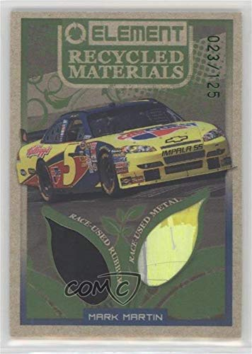 Mark Martin #23/125 (Trading Card) 2010 Wheels Element - Recycled Materials -