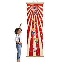 Height Chart for Kids Pirate and Circus