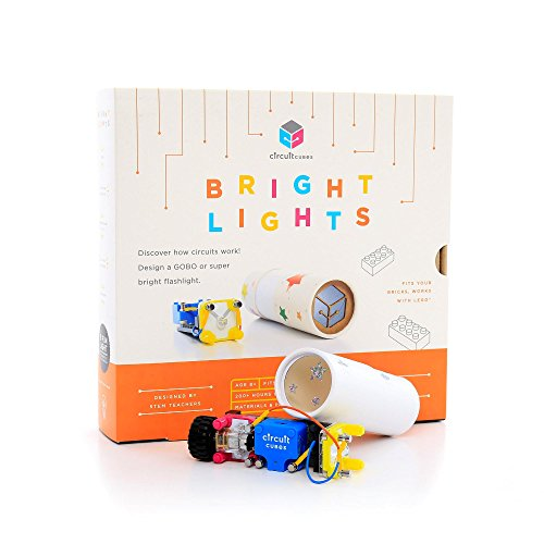 Circuit Cubes Bright Lights Educational Stem Learning Toy Kit, Multicolor